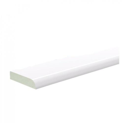 GREAT WOOD ไม้บัว PVC FCM-0406A 40x0.8x2700mm. WH05
