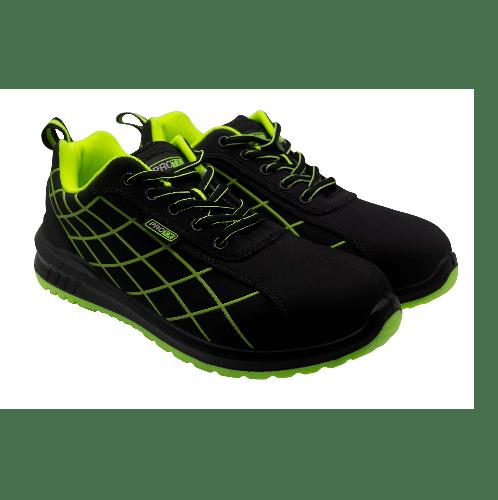 PROTX รองเท้าเซฟตี้ # 40  TSS-PU006-0140  ดำ-เขียว