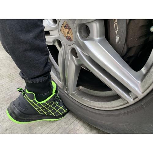 PROTX รองเท้าเซฟตี้ # 41 TSS-PU006-0141 ดำ-เขียว