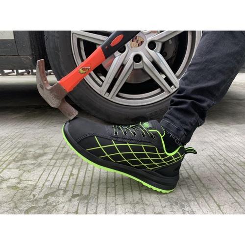 PROTX รองเท้าเซฟตี้ # 42  TSS-PU006-0142 ดำ-เขียว