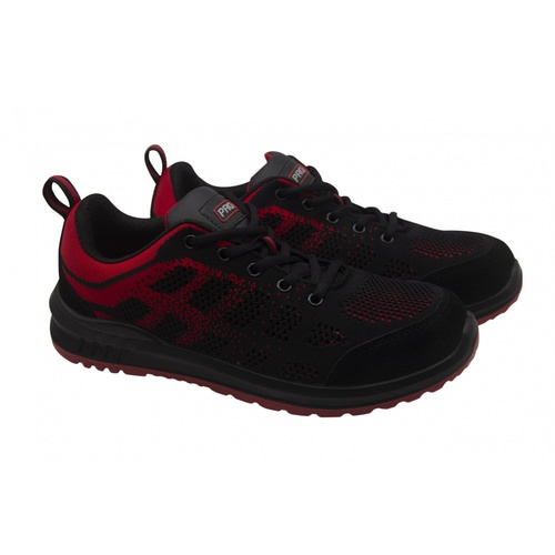 PROTX รองเท้าเซฟตี้ # 40 TSS-PU006-0340  ดำ-แดง