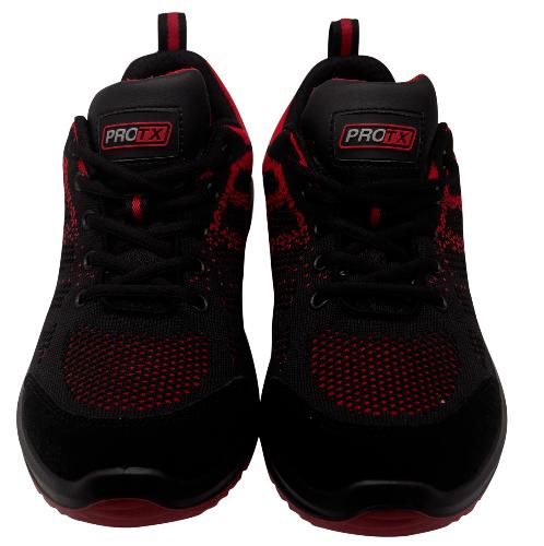 PROTX รองเท้าเซฟตี้ # 41 TSS-PU006-0341 ดำ-แดง