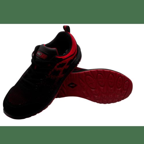 PROTX รองเท้าเซฟตี้ # 44 TSS-PU006-0344 ดำ-แดง