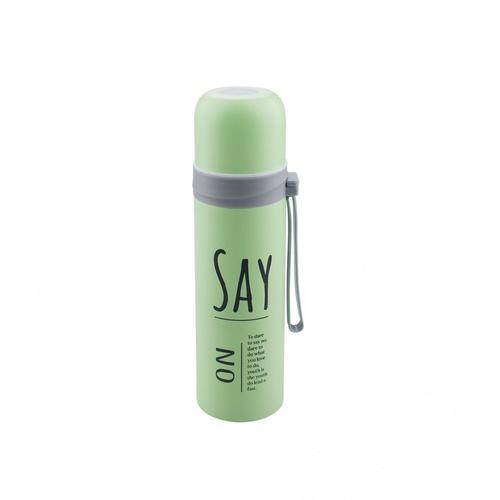 LAMAYON กระบอกน้ำเก็บอุณหภูมิ ขนาด 450ML CP07 สีเขียว