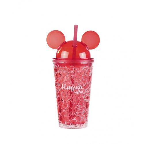 LAMAYON แก้วน้ำแข็งพลาสติก Mickey ขนาด  500ML CP10 สีแดง