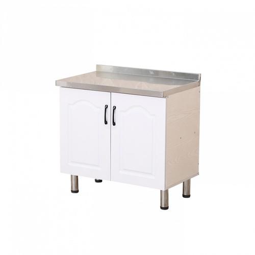 CLOSE ตู้ท็อปหน้าบานปิดผิว ขนาด 80×50×82ซม. KITCHY T-80 สีขาว