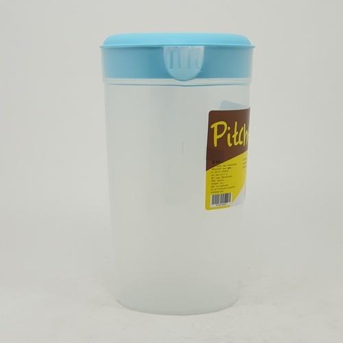 LUXUS เหยือกน้ำพลาสติก 1900ML. ขนาด 10x17x17 ซม. SP0262-BU สีฟ้า