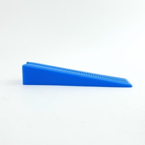 VINON TOOLS สามเหลื่ยมยึดแกนปรับระดับกระเบื้อง (100 ชิ้น/ถุง) 1501201100 สีน้ำเงิน