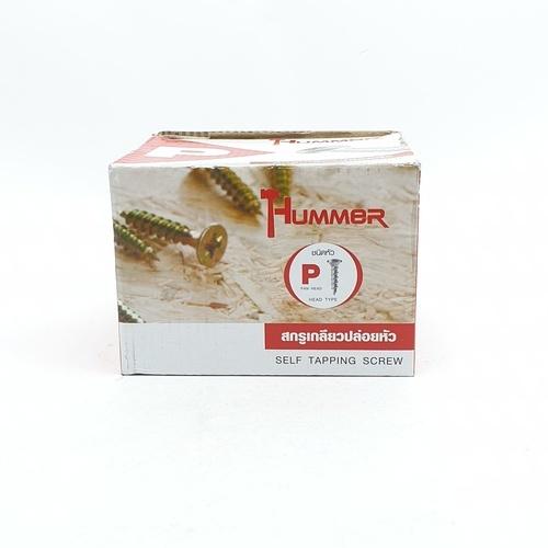 HUMMER สกรูเกลียวปล่อยหัว P-HM620 สีโครเมี่ยม