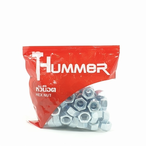 HUMMER หัวน็อต HM ขนาด 1/2 (เกลียวหุน) (1KG/ถุง) HN-12 สีโครเมี่ยม