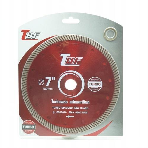 TUF ใบตัดเพชร ตัดคอนกรีต แบบแห้ง-น้ำ  7นิ้ว  CS17070