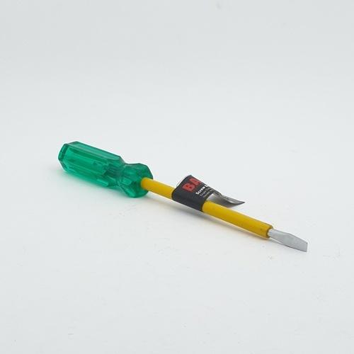 BAUM ไขควงปากแบน ด้ามเขียว หุ้มฉนวน 5X125 MM. รุ่น 317AX
