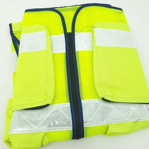 Protx เสื้อจราจรสะท้อนแสง  W0042-HBM ขนาด M  สีเหลือง  สีเหลือง