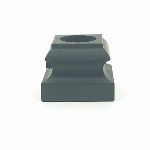 HUMMER ครอบฐานเหล็กดัดราวระเบียง   GH003 สีดำ