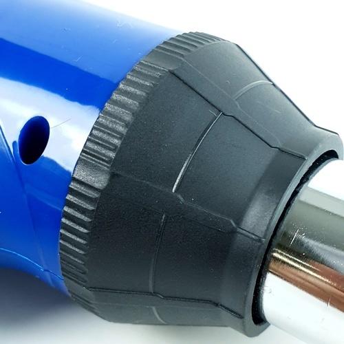 BISON  เครื่องเชื่อม พีวีซี พลาสติก 750วัตต์  D750 สีน้ำเงิน