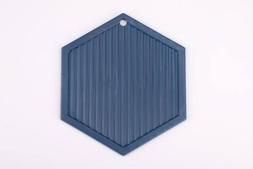 Nibiru ที่รองจานซิลิโคน 14x16x0.5 ซม. คละสี  Kleene คละสี