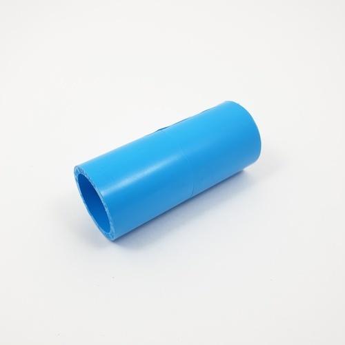 AAA ข้อต่อตรงหนา 1/2นิ้ว (18) ชั้น 13.5  สีฟ้า
