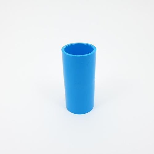 AAA ข้อต่อตรง  หนา 1นิ้ว (25) ชั้น 13.5  สีฟ้า