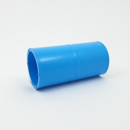 AAA ข้อต่อตรง หนา 1 1/4นิ้ว (35)  ชั้น 13.5  สีฟ้า