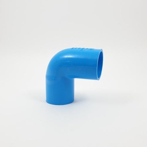 AAA ข้องอ 90 หนา 1 1/4นิ้ว(35  ชั้น 13.5  สีฟ้า