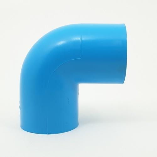 3 เอ ข้องอฉาก(13.5)2.1/2นิ้ว(65) - สีฟ้า