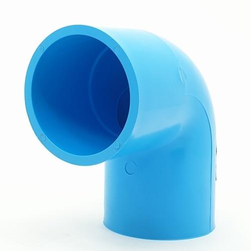 AAA  ข้องอ 90 หนา 2 1/2 นิ้ว (65)  ชั้น 13.5  สีฟ้า