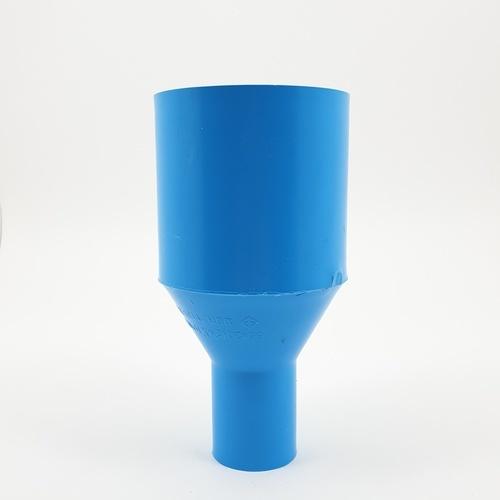 AAA ข้อต่อตรงลด  หนา 2 นิ้ว X 3/4นิ้ว (55X20) ชั้น 13.5  สีฟ้า
