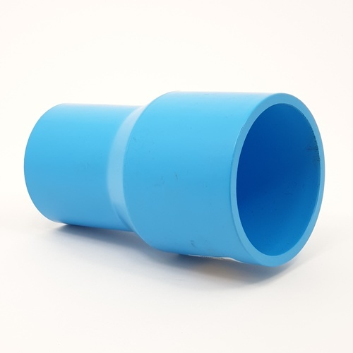 AAA ข้อต่อตรงลด  หนา 2 1/2นิ้วX 2นิ้ว (65X55) ชั้น 13.5  สีฟ้า