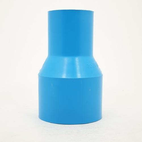3 เอ ข้อต่อตรงลด(13.5)3x2(80x55) - สีฟ้า