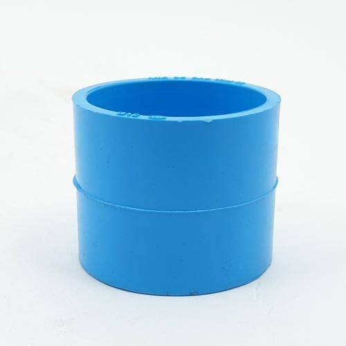 3 เอ ข้อต่อตรงบาง1.1/4นิ้ว(35 - สีฟ้า