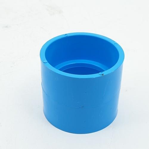 AAA ข้อต่อตรง แบบบาง  1 1/2นิ้ว (40) ชั้น 8.5  สีฟ้า