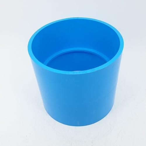 3 เอ ข้อต่อตรงบาง5นิ้ว(125) - สีฟ้า