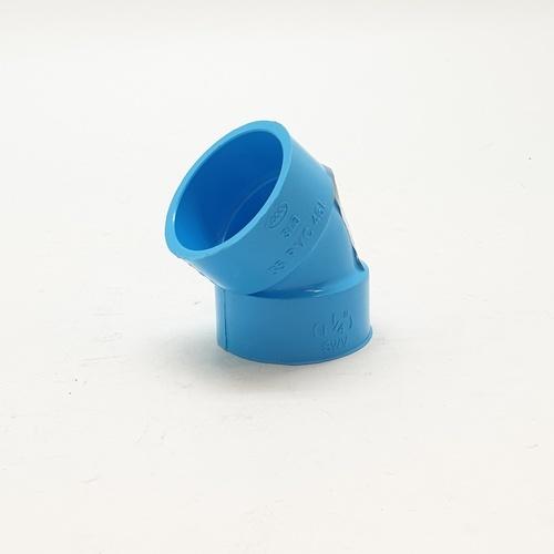 3 เอ ข้องอบาง451.1/4นิ้ว(35) - สีฟ้า