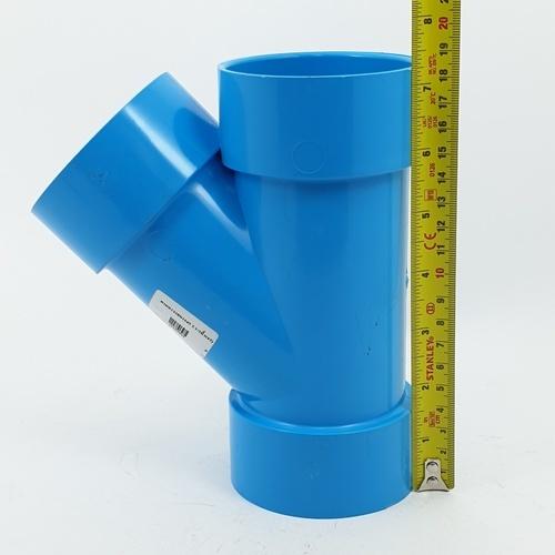 AAA สามทางวาย 45  แบบบาง 2 1/2นิ้ว(65) ชั้น 8.5  สีฟ้า