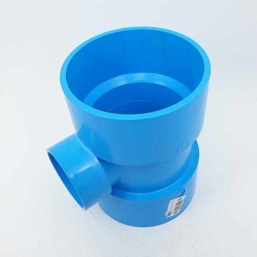 AAA สามทางลด  แบบบาง 4นิ้ว  X 2นิ้ว(100X55) ชั้น 8.5  สีฟ้า
