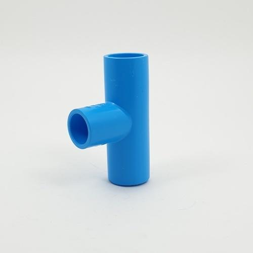 3 เอ สามตาฉากลด 3/4x1/2(13.5)แพ็ค10 - สีฟ้า