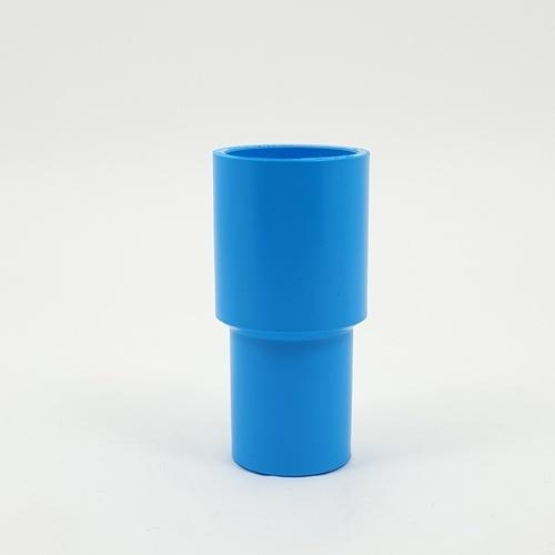 ข้อต่อตรงลด 1นิ้วx3/4นิ้ว(13.5)แพ็ค10  ฟ้า