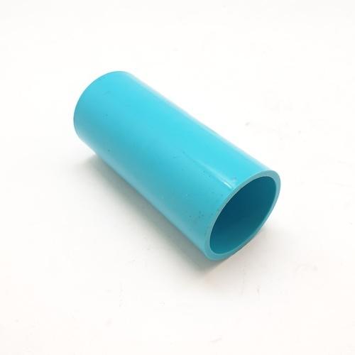 VAVO ข้อต่อตรง หนา  ขนาด 1นิ้ว  สีฟ้า