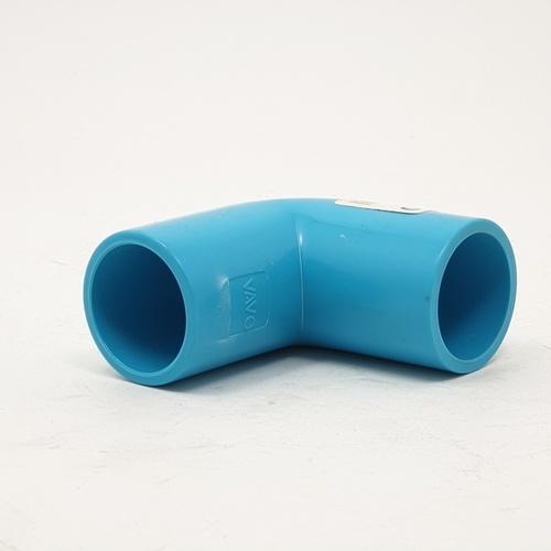 VAVO ข้องอ 90  หนา ขนาด 3/4นิ้ว  สีฟ้า