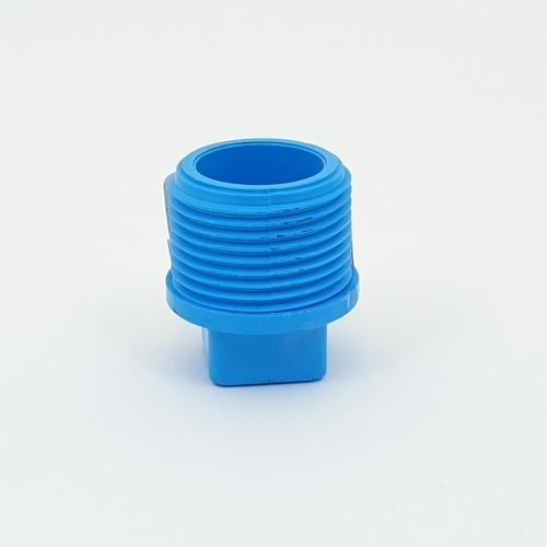 3 เอ ปลั๊กอุดPVC3/4 - สีฟ้า