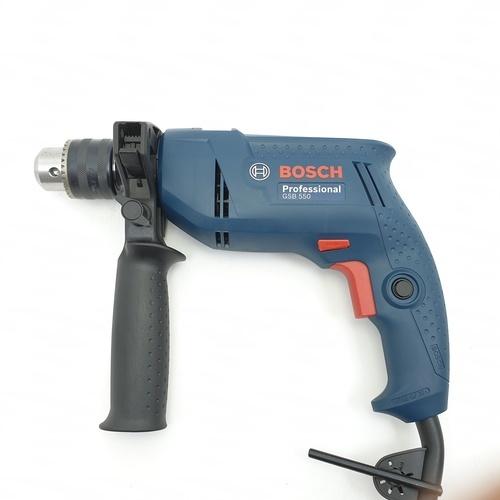 BOSCH สว่านไฟฟ้า 550 วัตต์ GSB 550  น้ำเงิน-ดำ