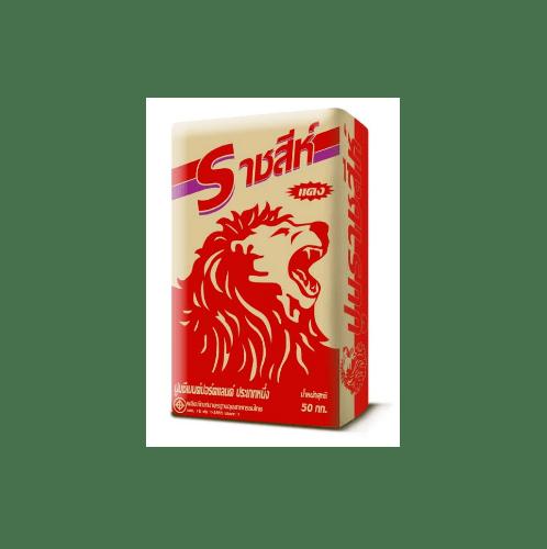ราชสีห์ ปูนราชสีห์แดง  50 กก. สีเทา