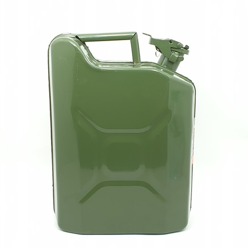TUF ถังบรรจุน้ำมัน แบบถังเหล็ก ขนาด 10L  QH005 สีเขียว