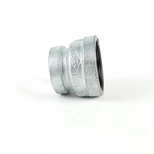 VAVO ข้อต่อตรงลดเหล็ก  2นิ้วx1.1/2นิ้ว
