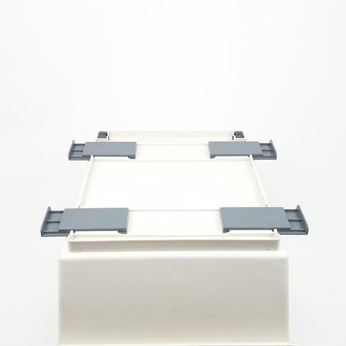 GOME ชั้นตะกร้า ขนาด 27x35.7x22.5 cm   ZJF005-WH สีขาว
