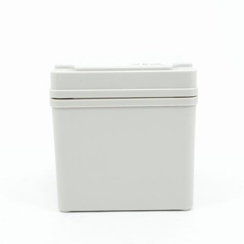 V.E.G กล่องกันน้ำพลาสติกTHE-05 100x100x100mm. V.E.G  ขาว