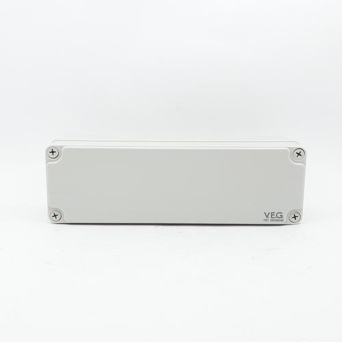 V.E.G กล่องกันน้ำพลาสติกTHE-10 250x250x85mm. V.E.G  ขาว