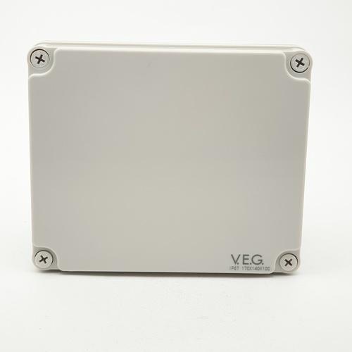 V.E.G กล่องกันน้ำพลาสติก ขนาด 170x170x100 mm.  THE-15 สีขาว