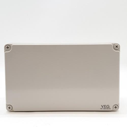 V.E.G กล่องกันน้ำพลาสติก ขนาด 250x150x100mm. THE-19 สีขาว
