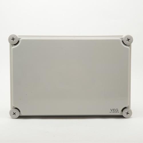 V.E.G กล่องกันน้ำพลาสติกTHE-21 280x280x130mm. V.E.G  ขาว
